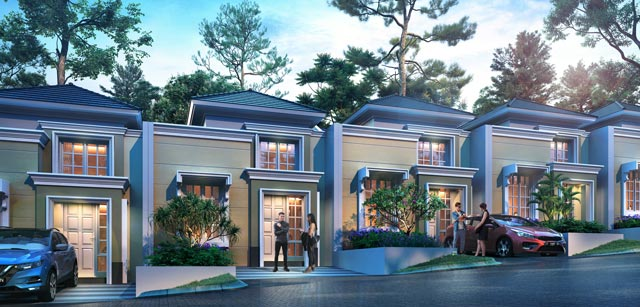 Rumah di Cluster Spring Dale, CitraGarden City Malang